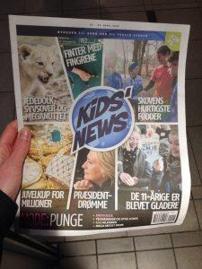 KidsNews_camilla bergamnn_orienteringsløb_forside