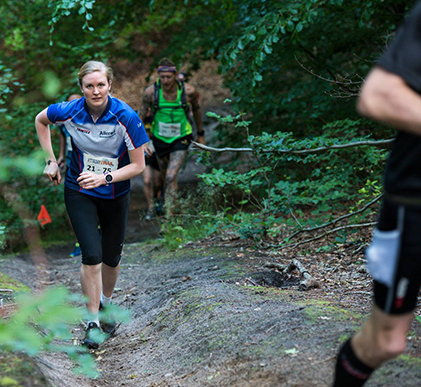 løbsberetning 21 km i søllerød geel skov