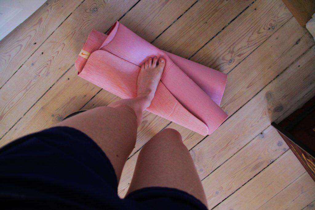 camilla runningblogs blogging fysioterapeut vrikke rundt på foden genoptræning brækket ankel