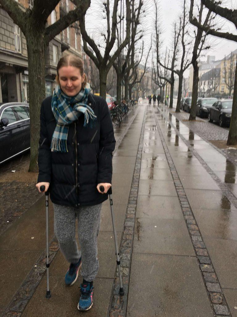 Camilla Bergmann_ankel_brækket-gips