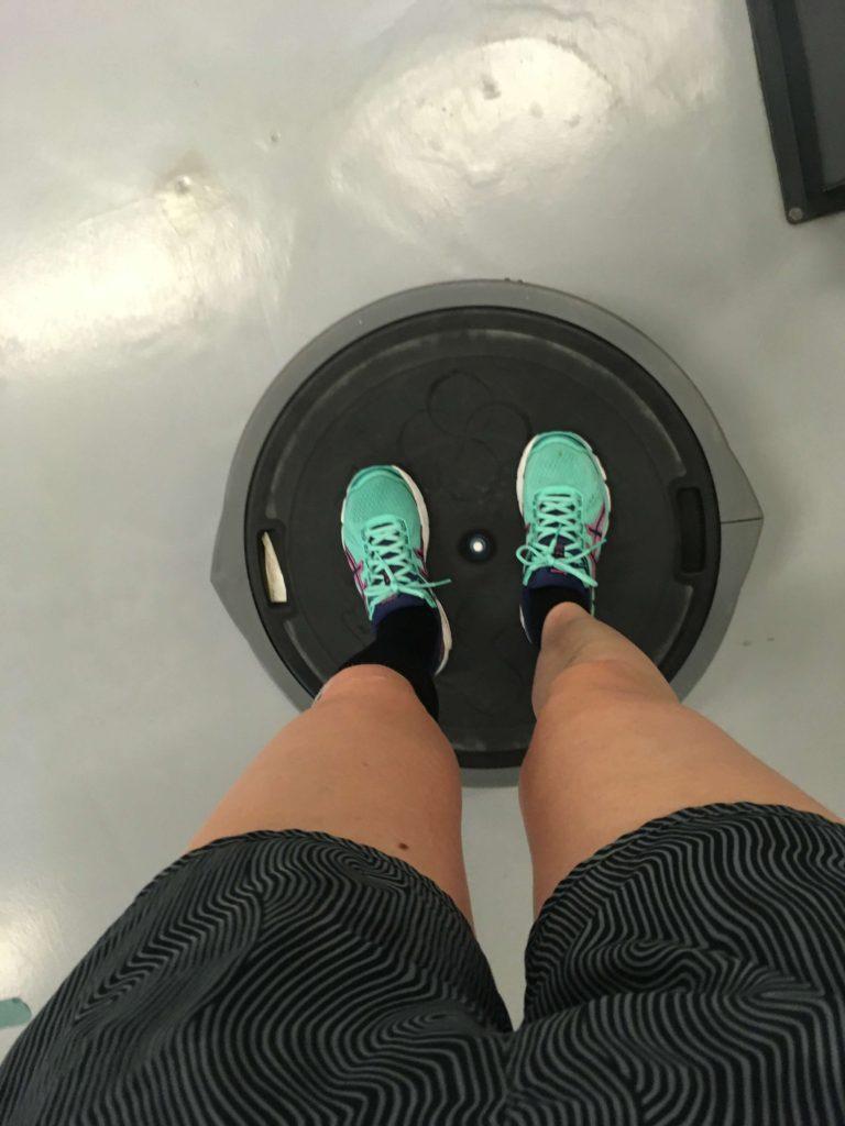 genoptræning-brækket-ankel-løbetræning
