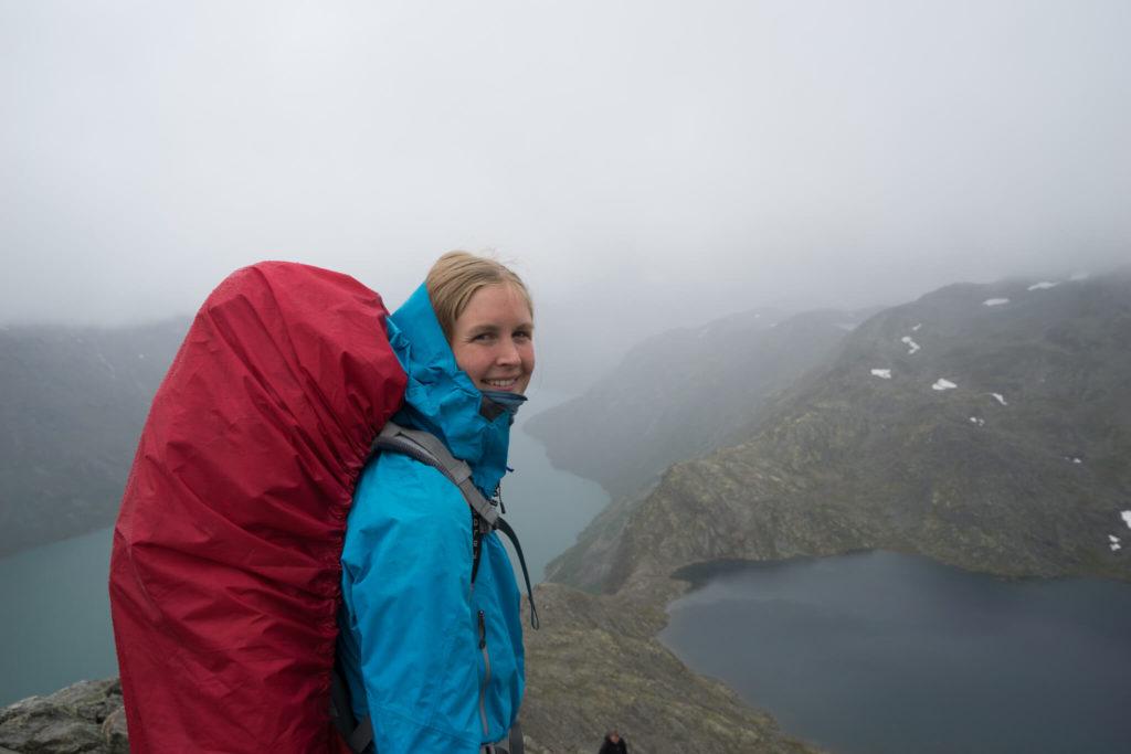 Besseggen_Norge 2016_brækket ankel genoptræning