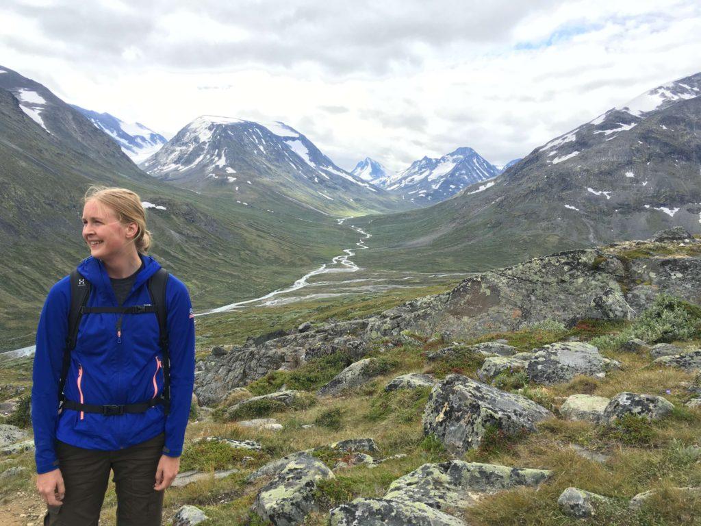 Glittertind Norge 2016_brækket ankel_genoptræning